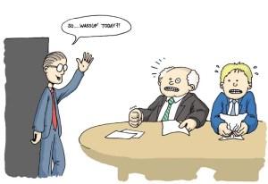 interview etiquett