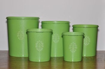 green tupperware