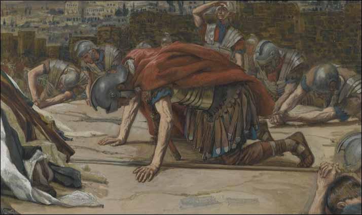 Lent Lenten Sermon Roman Centurion Soldiers Jesus Christ Christian Confessional LCMS Lutheran_zpsj8ppveig